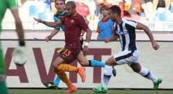 Bruno Peres Azione Roma-Udinese