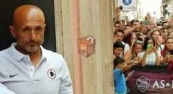 Spalletti Evento Roma Store Presentazione maglia Away