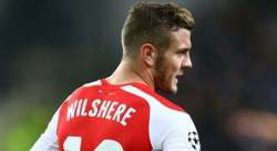Wilshere di spalle