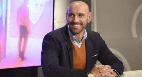 PESCARA-ROMA Monchi negli spogliatoi si congratula con la squadra