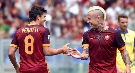 Perotti e Nainggolan