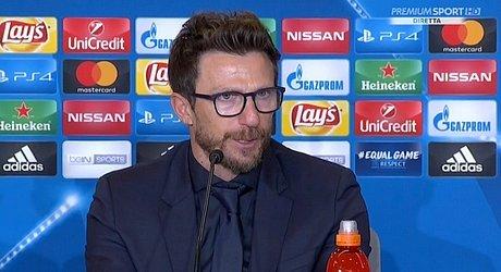 ROMA-CAGLIARI Di Francesco: 'Sono molto contento di Fazio, dobbiamo migliorare con l'allenamento quotidiano' (VIDEO)(CONFERENZA STAMPA)
