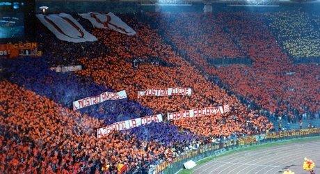 Scenografia Roma-Inter Finale Coppa UEFA 90-91