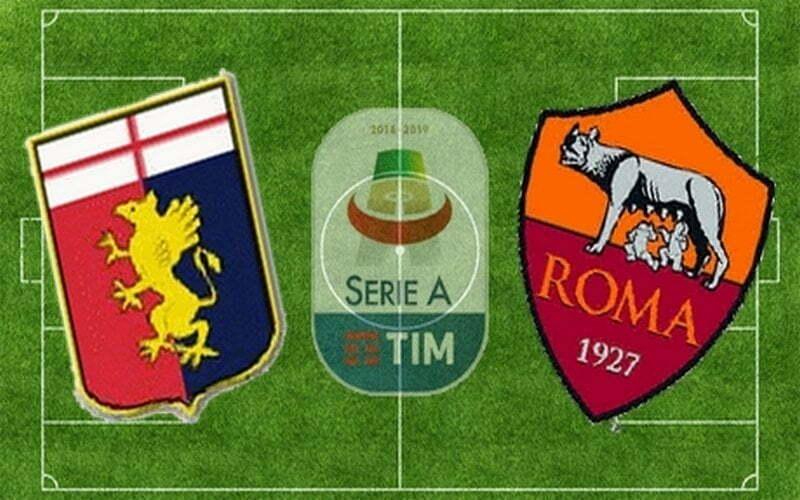 GENOA-ROMA 1-3 (TABELLINO)