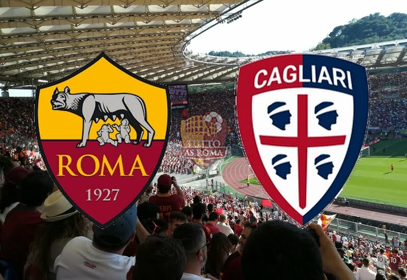 ROMA-CAGLIARI 1-1 (TABELLINO)