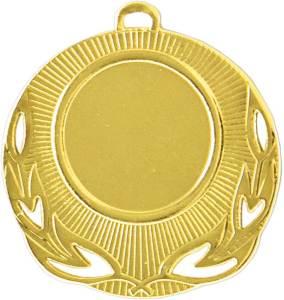 Medaglia colore oro diamentro 50