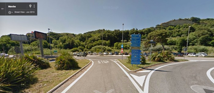 step 22 - exit autostrada in Gmmare