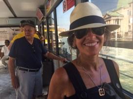 """In Venezia, it's called a """"vaporetto"""""""