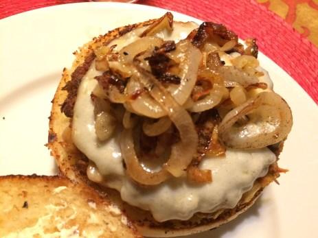 Lentil Chickpea Veggie Burgers on Brioche Buns