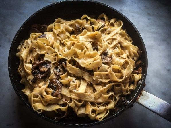 Funghi pasta