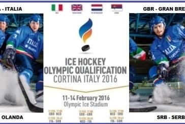 Qui Blue Team: da giovedì a Cortina il round 2 del preolimpico