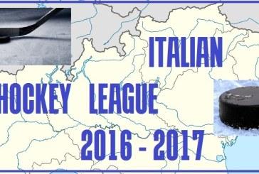 """Serie """"B"""": fra tre giorni parte l'IHL 2016-2017"""