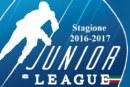 Junior League: da stasera il nuovo campionato 2016-2017