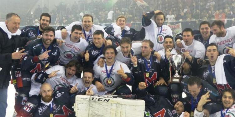 Coppa Italia: a Selva trionfa il Milano nel 4-3 al Fiemme