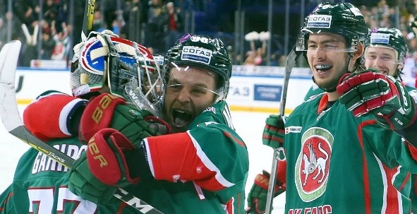 Kontinental Hockey League: finalissima Magnitogorsk-SanPietroburgo