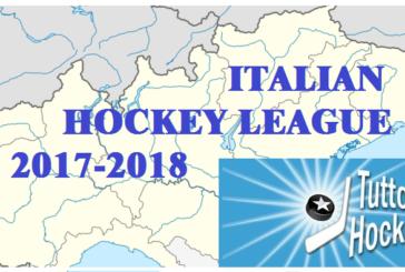 Italian Hockey League: il programma della stagione 2017-2018