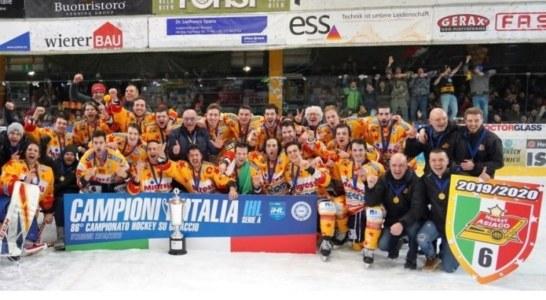 Elite IHL: trionfo Asiago, Campione d'Italia 2019-2020