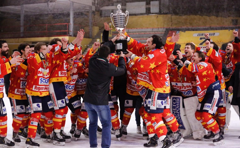 Qui Elite IHL: l'Asiago si conferma campione d'Italia