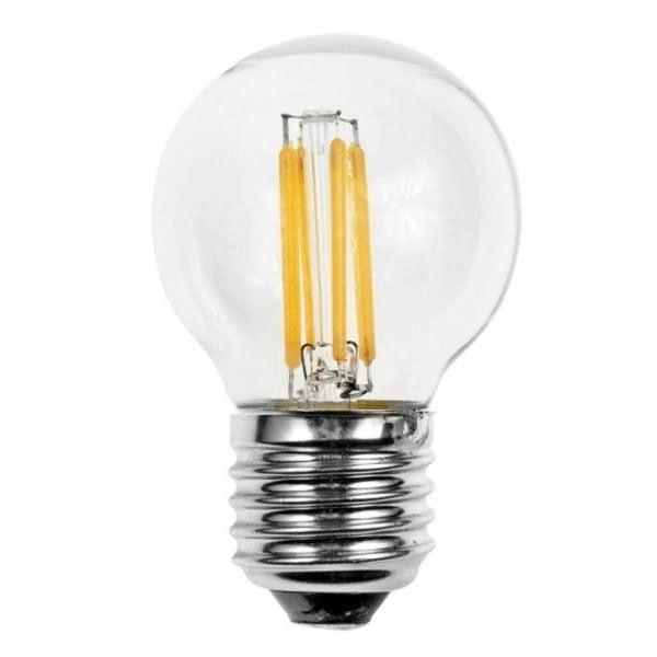 Lampadina led filamento luce tonalità calda