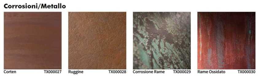 Oikos tinteggiatura decorativa interno corrosioni metallo