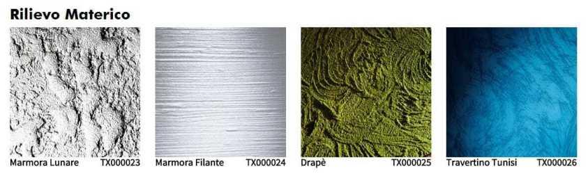 Oikos tinteggiatura decorativa interno rilievo materico