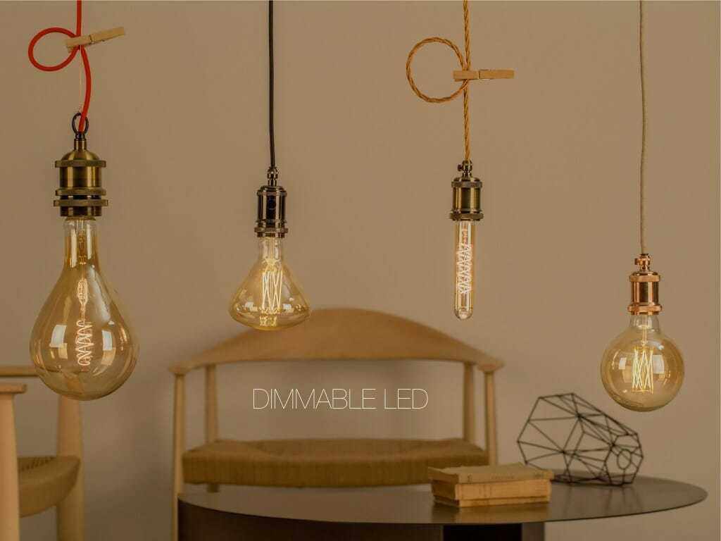 Lampada Tubolare Led : Lampadine led filamento dimmerabili in vari formati anche edison