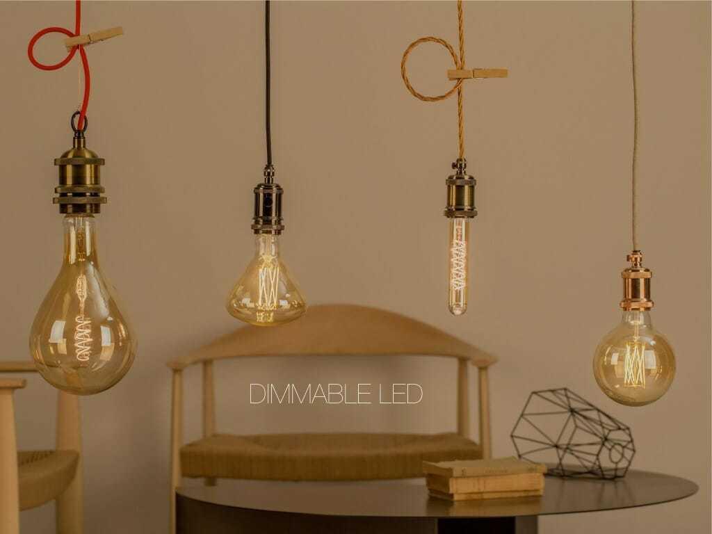 Lampadine led filamento dimmerabili in vari formati anche edison e