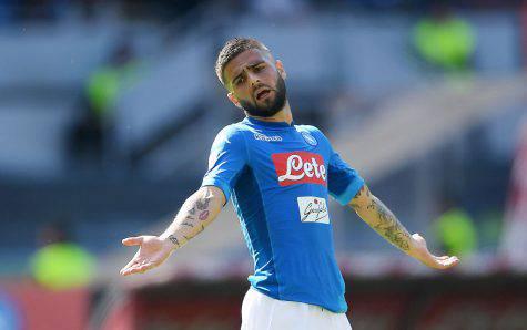 Napoli News, contro il Liverpool non ci sarà Insigne