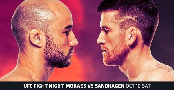 UFC Moraes Sandhagen