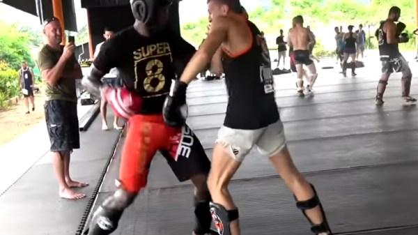 gym wars sparring