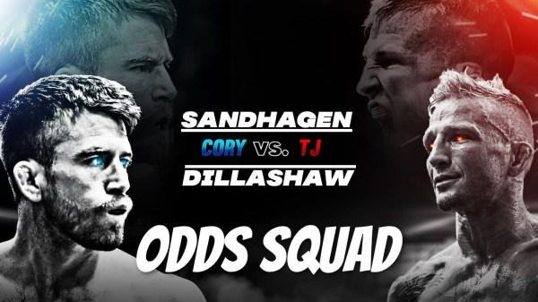 sandhagen dillashaw odds squad