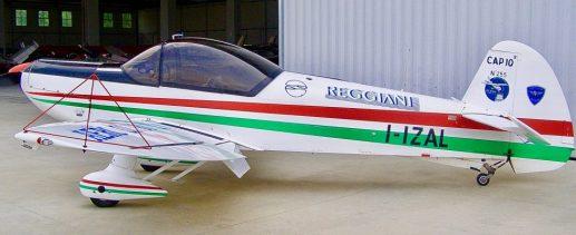Il CAP10 dell'Aero CLub Milano