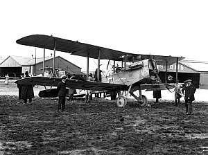 Uno tra i primi aerei utilizzati per servizi commerciali