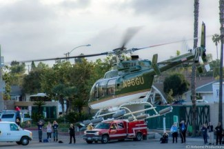 Un elicottero BELL 407 che ha messo più volte a disposizione per operazioni di salvataggio