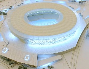 Lo stadio della Roma