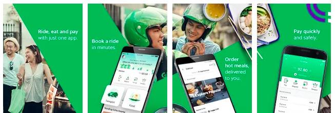 Grab è una delle applicazioni utili da scaricare quando si è in viaggio in Vietnam perché ti aiuta a trovare taxi e mototaxi