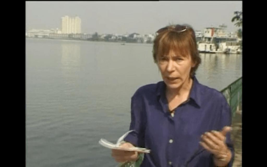 Milena Gabanelli a Hanoi, in Vietnam