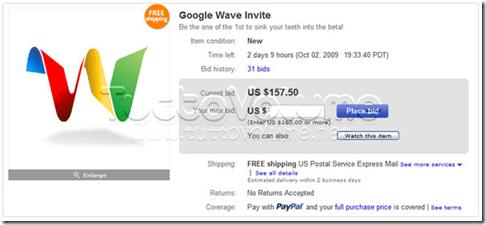 Google_Wave_Inviti-vendita