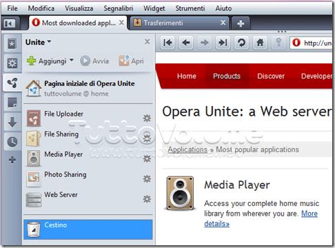 Opera Unite