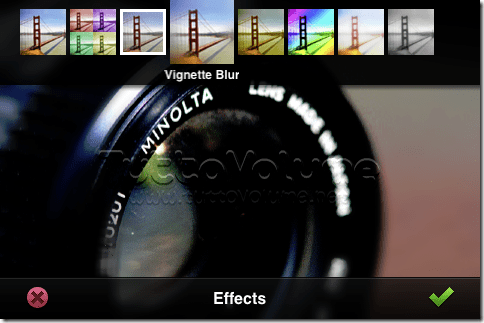 Photoshop per iPhone effetti