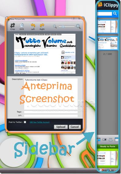 iClippi screenshot capture