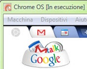 Chrome OS in esecuzione