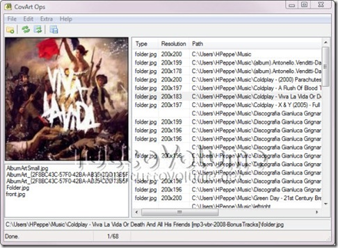 CovArt Ops copertine album