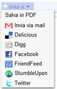 Google Reader Send To