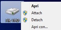 Monta file VHD in Windows 7