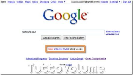 Nuova Homepage Google 2