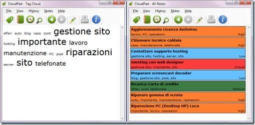 CloudPad_tag_cloud_elenco_priorità