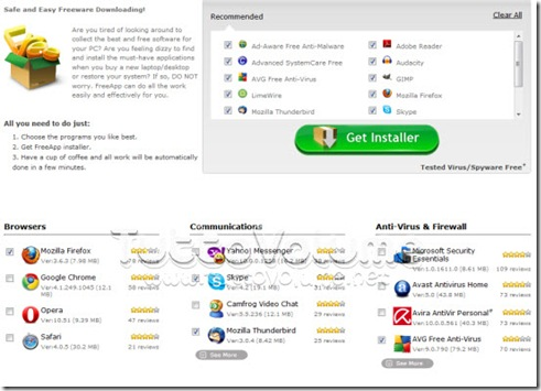 FreApp_Pacchetto_Software_free