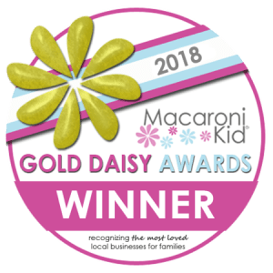 Voted Best Dance / Theater / Acting Classes & Lessons in the 2018 Macaroni Kid Gold Daisy Awards