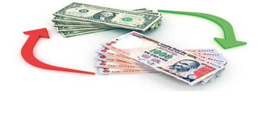 Depreciating Indian Rupee against US Dollar